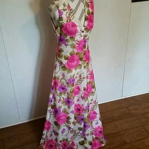 Vintage full length dress